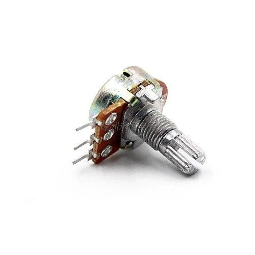 5PCS  Single Potentiometer  L15MM  WH148  B 1K 2K 5K 10K 20K 50K 100K 250K 500K 1M