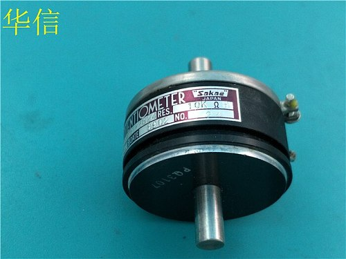 [VK] Used SAKAE SFCP40A-2824 10K shaft 12MM 15MM conductive plastic potentiometer biaxial switch