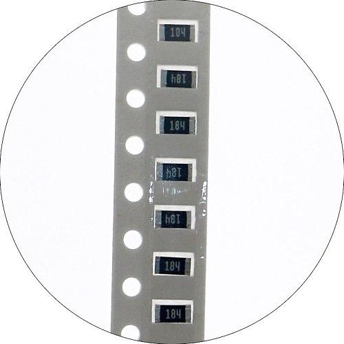 2500pcs 50values*50pcs 5% SMD Resistor Kit 1/4W 10ohm-910Kohm 1206 Chip Resistors Assorted Sample Kit