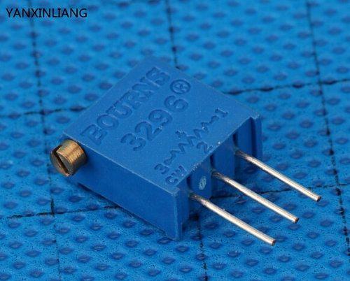10Pcs/lot 3296X-1-103LF 3296X 103 10K ohm side regulation Multiturn Trimmer Potentiometer High Precision Variable Resistor
