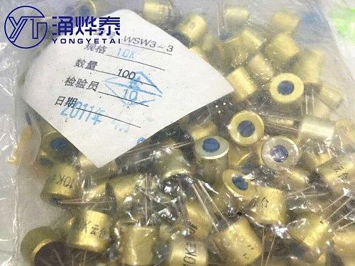 Adjustable resistance fine adjustment organic solid potentiometer 103 (10K) single turn Free shipping Hot sale
