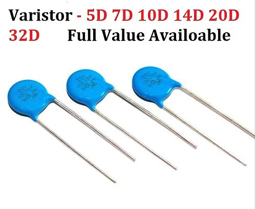10PCS Varistor 5D471K 7D431K  7D391K 7D471K 7D470K 10D241K 10D270K 10D330K 10D331K 10D390K 10D391K 10D431K 10D470K 10D471K