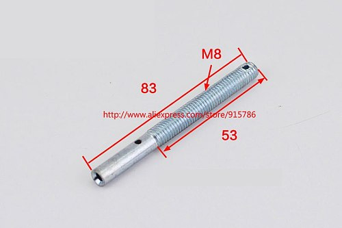 1pcs M8 elevator hollow screw / rope clamp / synchronous wire / hall door wire rope head adjustment