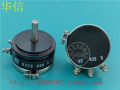 [VK] Used BI 6173 R5K L.5 5K conductive plastic potentiometer angle sensor shaft diameter 3MM switch