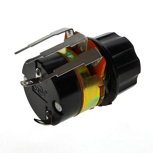 1PCS WH138 Hot New WH138-1 15MM B500K Adjustable Resistance Speed Regulator With Switch Potentiometer 500K