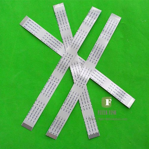 2PCS Flachbandkabel 16PIN Flexcable Flexprint Cable 230mm x 17mm 16 PIN For z.B. KSS-213C 150MM 120MM Long A/B Type