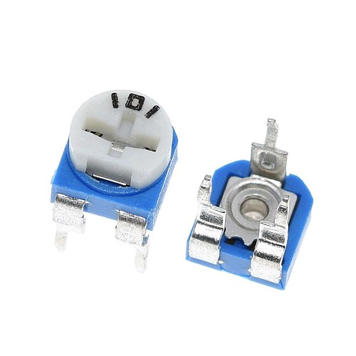 10pcs Rm065 Rm-065 100 200 500 1k 2k 5k 10k 20k 50k 100k 200k 500k 1m Ohm Trimpot Trimmer Potentiometer Variable Resistor
