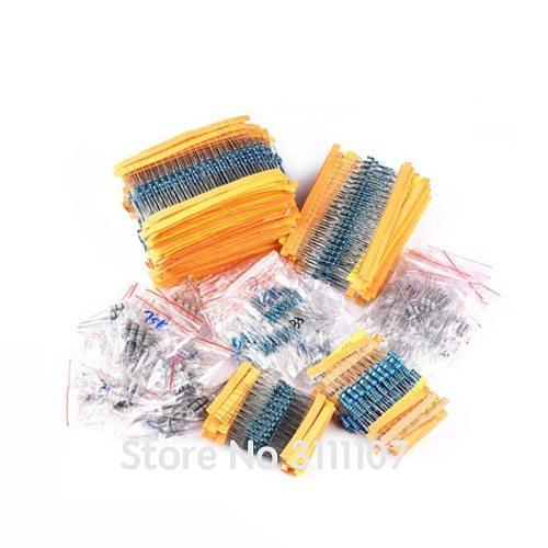 20PCS/LOT Carbon Film Resistor  3W 5% 1R ~ 1M 2.2R 4.7R 10R 33R 36R 47R 1K 4.7K 4K7 100K 1M 10 22 33 47ohm oxide film resistance