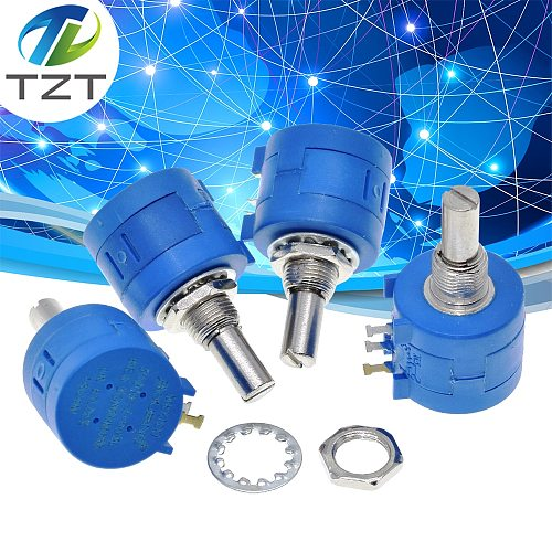 TZT 3590S series potentiometer 500 1K 2K 5K 10K 20K 50K 100K ohm 3590S-2-103L 3590S 101 102 103 104 201 202 203 501 502 503