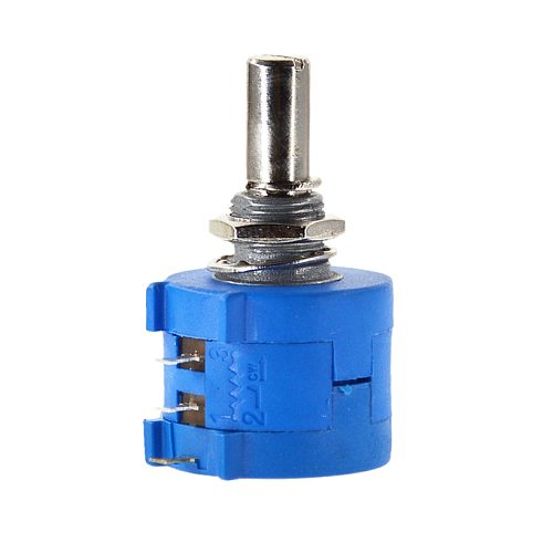 Free Shipping 3590S-2-101L 3590S 100R ohm Precision Multiturn Potentiometer 10 Ring Adjustable Resistor
