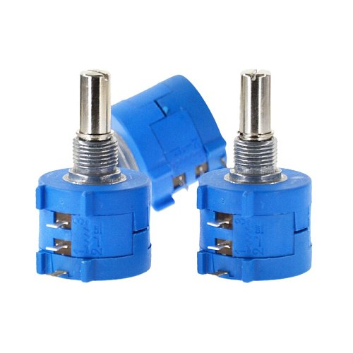 Free Shipping 3590S-2-202L 3590S 2K ohm Precision Multiturn Potentiometer 10 Ring Adjustable Resistor