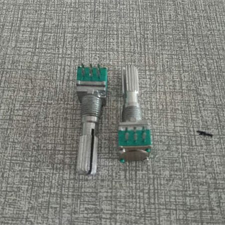 Original new 100% double potentiometer 6pin A202 2K handle length 25mm (SWITCH)