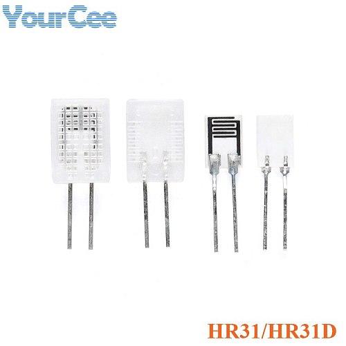 5pcs HR31 HR31D Hygrometer Humidity Sensor Sensitive Resistor Element Humidity Sensor Module with Case