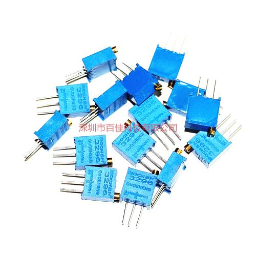15pcs  3296 Adjustable Resistor Pack 15 Common Resistance Values 1 of each