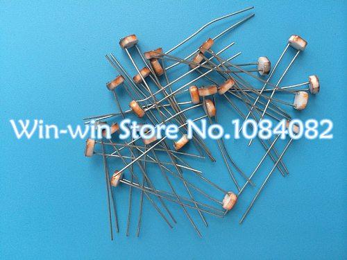10PCS GL5539 5mm 5539 Photo Light Sensitive Resistor Photoresistor Optoresistor Switch