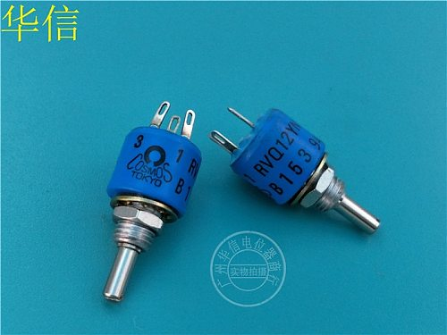 [VK] TOKYO RVQ12YN B153 B15K conductive plastic potentiometer handle length 15MM switch