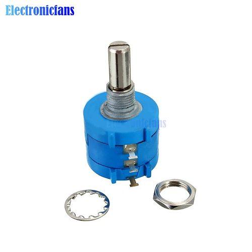 3590S-2-502L Rotary Wirewound Precision Potentiometer Pot 10 Turn 5K Ohm