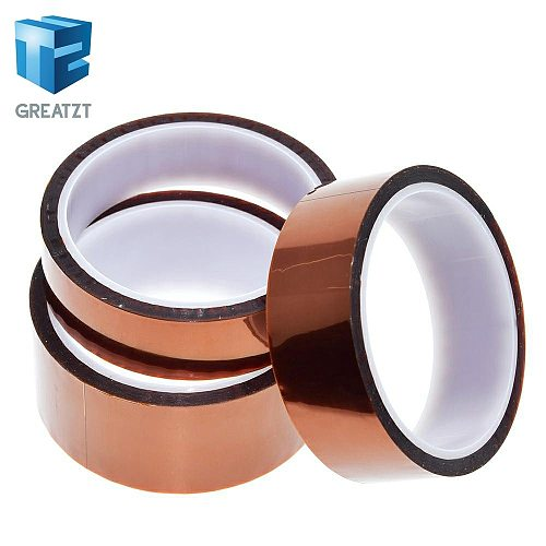 33meter x 5 6 8 10 12 15 25 30 40mm High Temperature Polyimide Tape Heat Resistant Insulation Polyimide Film Adhesive Tape 10mm