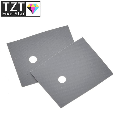 10pcs Large TO-3P TO-247 silicone sheet insulation pads silicone insulation film