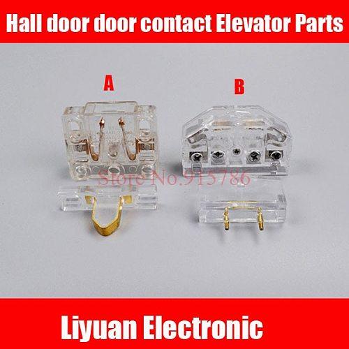 1 pair Elevator door lock Elevator door lock switch Hall door landing door pay contact Elevator Parts