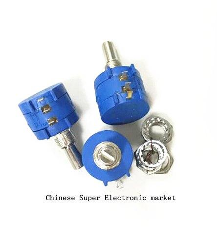 2PCS 3590S series resistance 1K 2K 5K 10K 20K 50K 100K ohm Potentiometer Adjustable Resistor 3590 102 202 502 103 3590S-2
