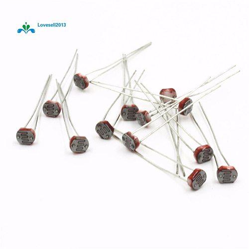 20Pcs Photo Light Sensitive Resistor Photoresistor 5516 GL5516