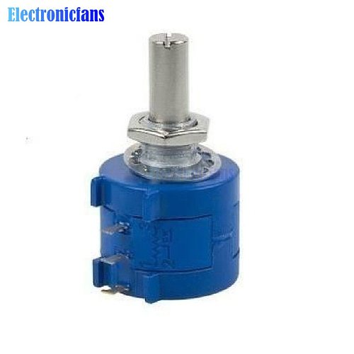 50K Ohm 590S-2-503L BOURNS Rotary Wirewound Precision Potentiometer Pot 10 Turn
