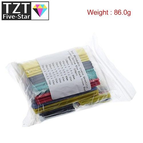 328pcs Heat Shrink Tubing Insulation Shrinkable Tube Assortment 2:1 Heat Shrink Tubing Colorful Wrap Wire Cable Sleeve DIY Kit
