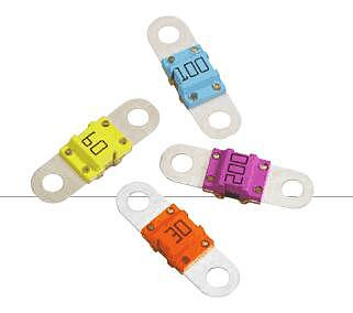 BF1 40A 50A 60A 80A 100A 125A 150A 32V BF1 Fuse Auto Fuse Car Boat Motorcycle Blade Fuses For Littelfuse x 5PCS