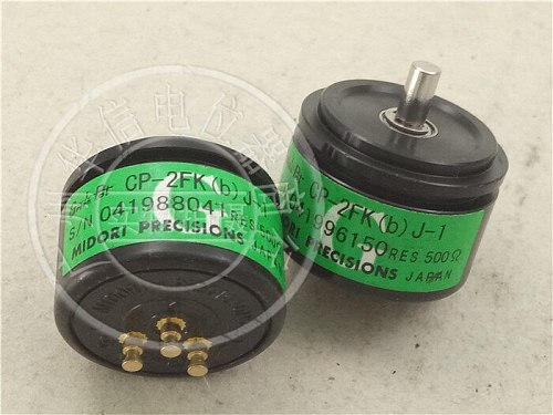 [VK] Japan CP-2FK (b) J-1 500 & conductive plastic potentiometer angle sensor precision servo installation switch