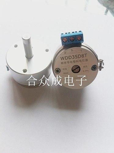 WDD35D8T 5k spring automatic reset angle sensor conductive plastic potentiometer original authentic switch