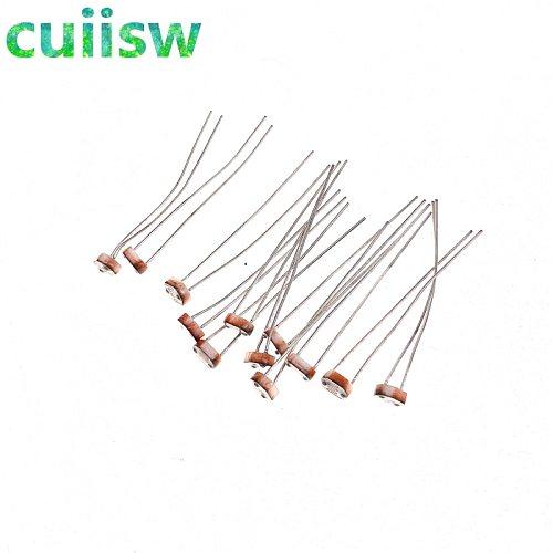 20pcs 5mm GL5516 GL5528 GL5537 GL5539 Photo Light Sensitive Resistor Photoresistor