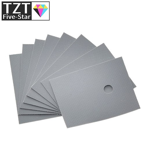 100pcs Large TO-3P TO-247 silicone sheet insulation pads silicone insulation film