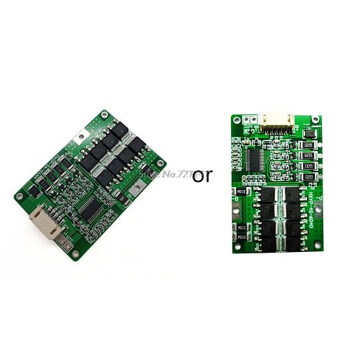 4S 12.8V 18A LiFePO4 Lithium iron phosphate BMS battery protection board with Balance 32650 batteries 20A current limit Dropship