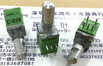 RK097 precision potentiometer switch B100K single with switch shaft length 15MM