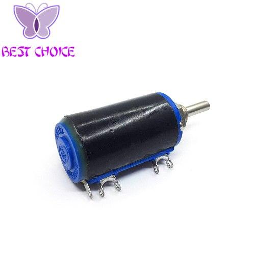 5PCS Smart Electronics WXD3-13-2W 10K Rotary Side Rotary Multiturn Wirewound Potentiometer