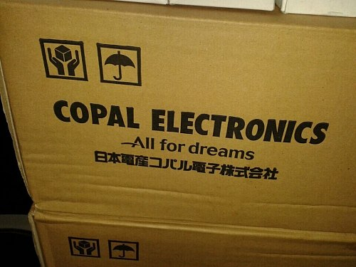 Switch COPAL FT-63EP 500K 504 DIP3 Metallic Glass Glaze Potentiometer switch new and original