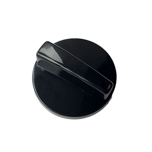 Black ABS 47*27MM Switch Rotary Knob For Gas Stove Oven 6mm Fulll Axi Type 6MM DKJ Timer Switch Knob