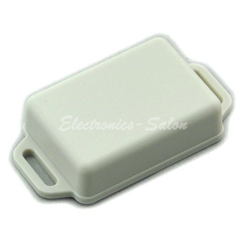 Small Wall-mounting Plastic Enclosure Box Case, White, 51x36x15mm, HIGH QUALITY.