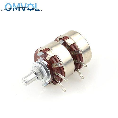 WTH118 2w Double membrane potentiometer  2k2 4K7 10K 220K 470K 680K 1M
