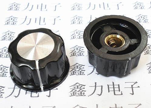 Free Shipping! 10pc A03 bakelite knob potentiometer knob inner hole 4MM-6.4MM (copper)