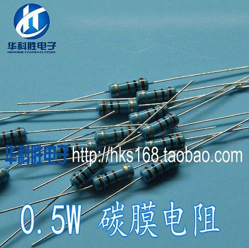 Carbon film resistor 330K Shipping 0.5W Free