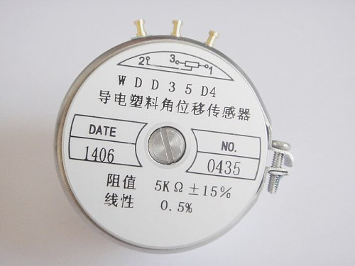 Conductive plastic potentiometer angle sensor without limit potentiometer WDD35D4 1K factory outlets switch