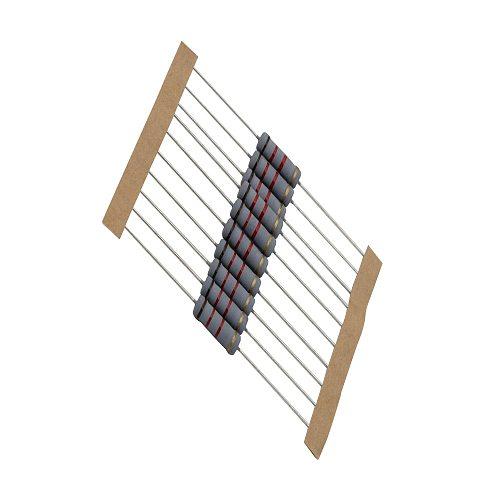 10pcs/Lot 2W Carbon Film Resistors 5% Common used resistance 1ohm-1M