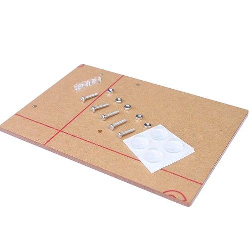 Acrylic Experimental Platform Base-plate for Arduino UNO R3 Board Fixation 11.7cm*8.1cm