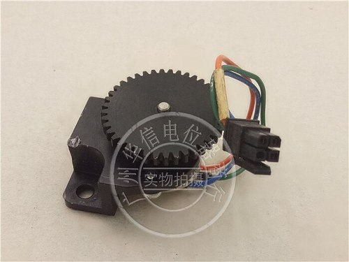 [VK] Used SP Mod 157 157-21103 10K conductive plastic potentiometer shaft 3MM with gear switch