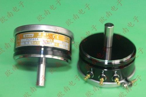 [VK] Japan original sakae FCP40A conductive plastic potentiometer 1K 2K 5K 10K switch