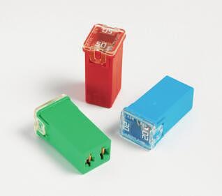 0495 20A 25A 30A 40A 50A 60A 32V Sqaure Auto Fuses Cartridge Fuse Box Low Profile JCASE Fuses Fuse Holder For Littelfuse x 5PCS