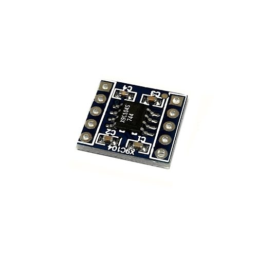 x9c104 digital potentiometer module 100 digital potentiometer to adjust the bridge balance