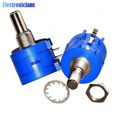 3590S-2-102L Rotary Wirewound Precision Potentiometer Pot 10 Turn 1K Ohm